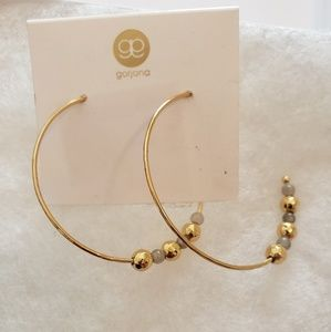 Gorjana hoop earrings
